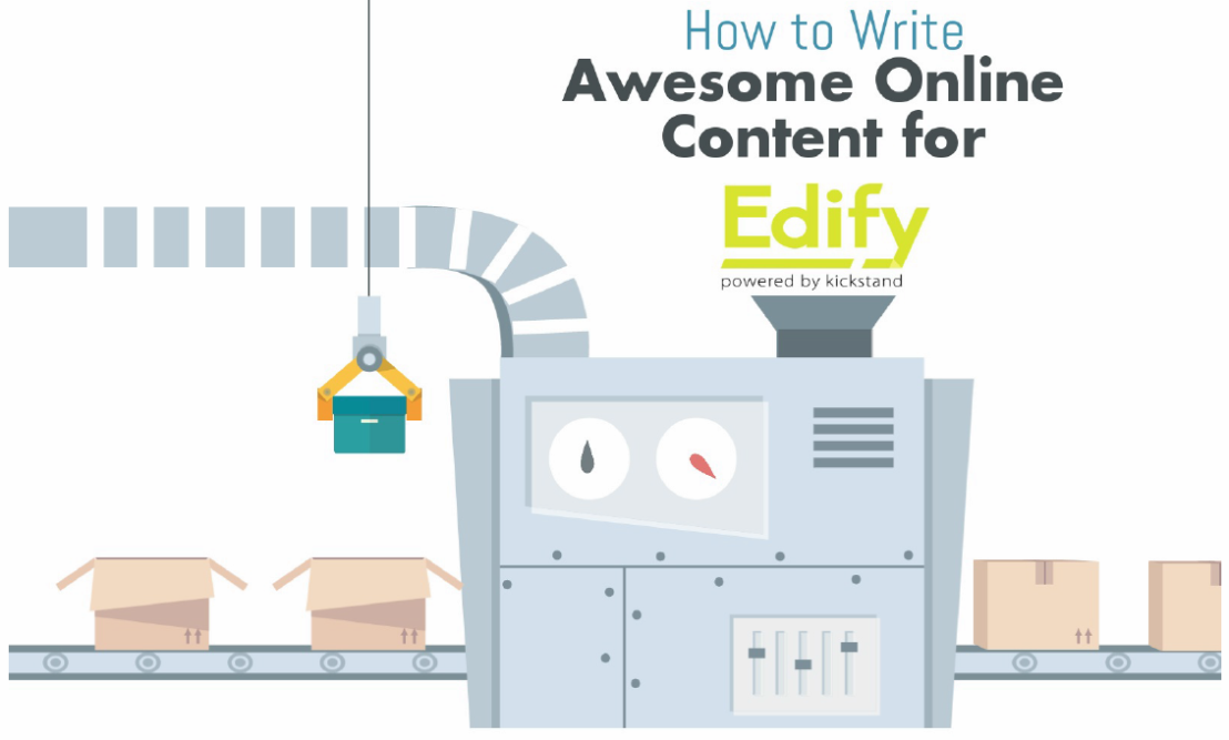 Looking for EDIFY Course Content Writers