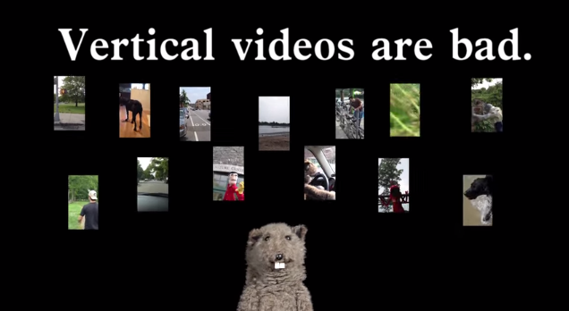 A Simple Tip to Help Cure Holiday Vertical Video Syndrome.