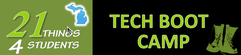 Announcing the 21Things4Students Tech Boot Camp!
