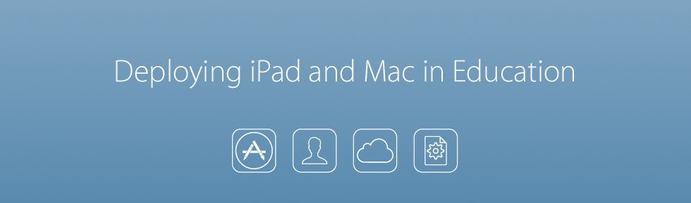 Deploying iPad and Mac in Education Professional Learning Opportunity