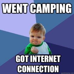 wentcamping