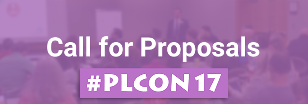 #PLCON17 Call for Proposals is Open!