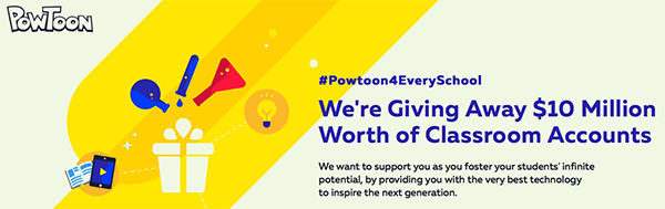 Teachers Can Get Powtoon for FREE #Powtoon4EverySchool